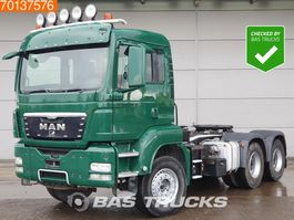 standaard trekker MAN TGS 33.440 6X4 Hydraulik Big-Axle Steelsuspension Manual Euro 4 2009