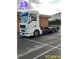 containersysteem vrachtwagen MAN TGX 480 Euro 5 INTARDER 2011