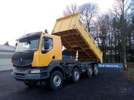 kipper vrachtwagen > 7.5 t Renault Kerax 450 dxi tri-benne comme neuf!
