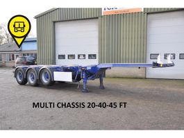 container chassis oplegger D-TEC D-Tech D-TEC MULTI CHASSIS .20-40-45 FT 2006