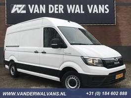 gesloten bestelwagen MAN TGE 3.140 140pk L3H3 (oude L2H2) Euro6 Airco, fabrieksgarantie, 3-zits 2020