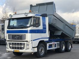 kipper vrachtwagen > 7.5 t Volvo FH 540 6x4 TIPPER / FULL STEEL / BIG AXLES EURO 5 2013