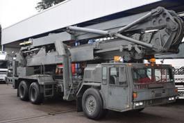 autohoogwerker vrachtwagen Terex 40 Meter, 6x4, Steel springs, Ex army 1990
