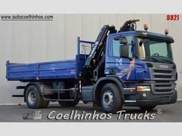 kipper vrachtwagen > 7.5 t Scania P310 2007
