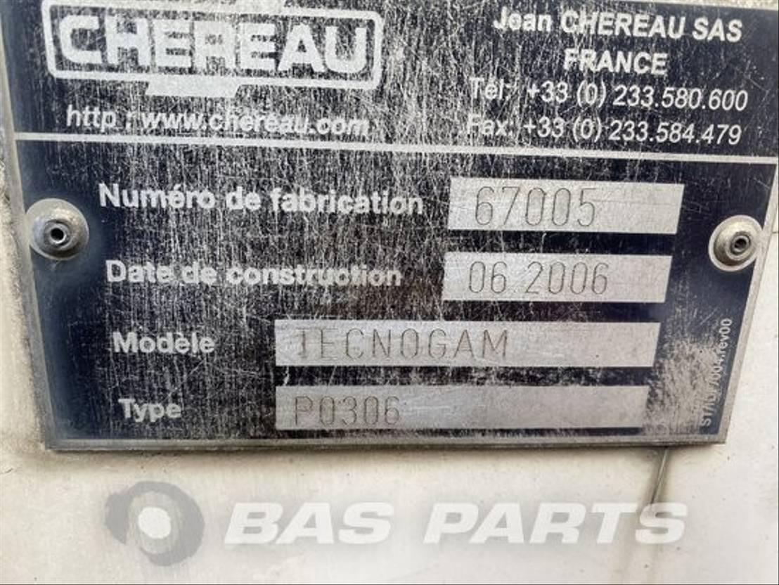 Opbouw vrachtwagen onderdeel Diversen Chassis opbouw diverse Chereau 2006