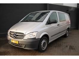 gesloten bestelwagen Mercedes-Benz Vito 110 CDI Lang Dubbele Cabine - Airco - 6 Pers - € 11.950,- Ex. 2014