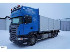 containersysteem vrachtwagen Scania R500 6x2 container chassis w / lift and box 2006