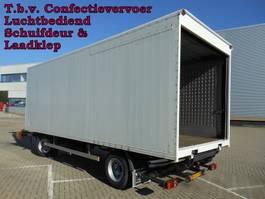overige vrachtwagen aanhangers Pacton - Vrachtwagen Aanhangwagen Gesloten, WF-DL-09 T.b.v. Confectievervoer 2002