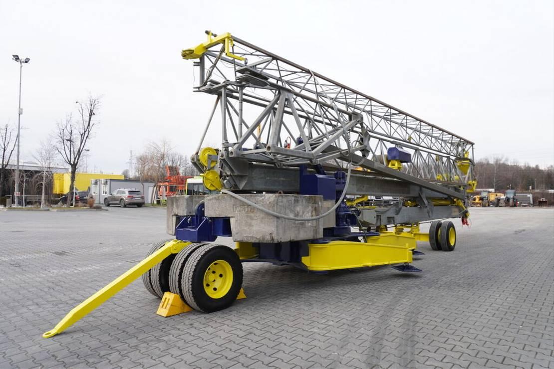 vaste torenkraan Diversen MA SOL HS 35.10 , 35m - 4000kg , trailed , construction crane 2005