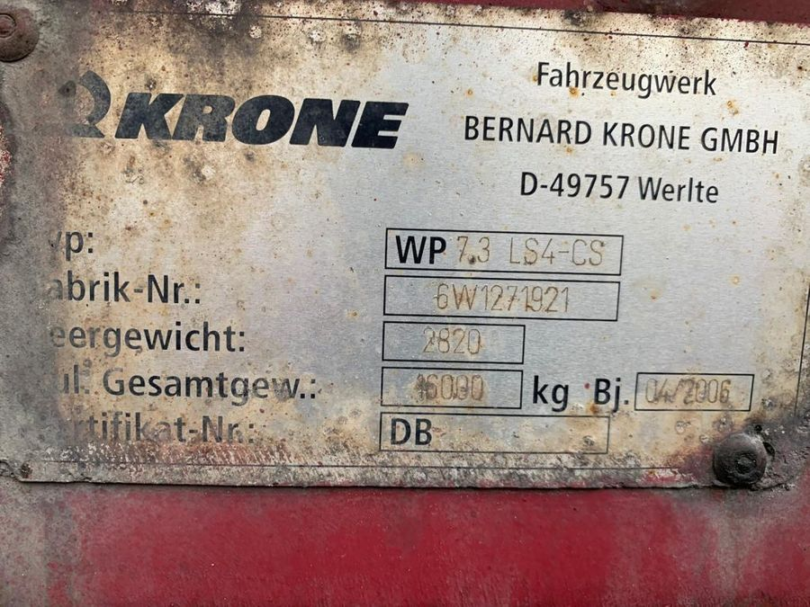 Krone - AZ DB07L Mit Aufbau 6