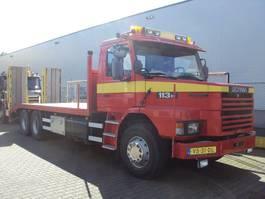 oprij vrachtwagen Scania T 113 6x2 1992