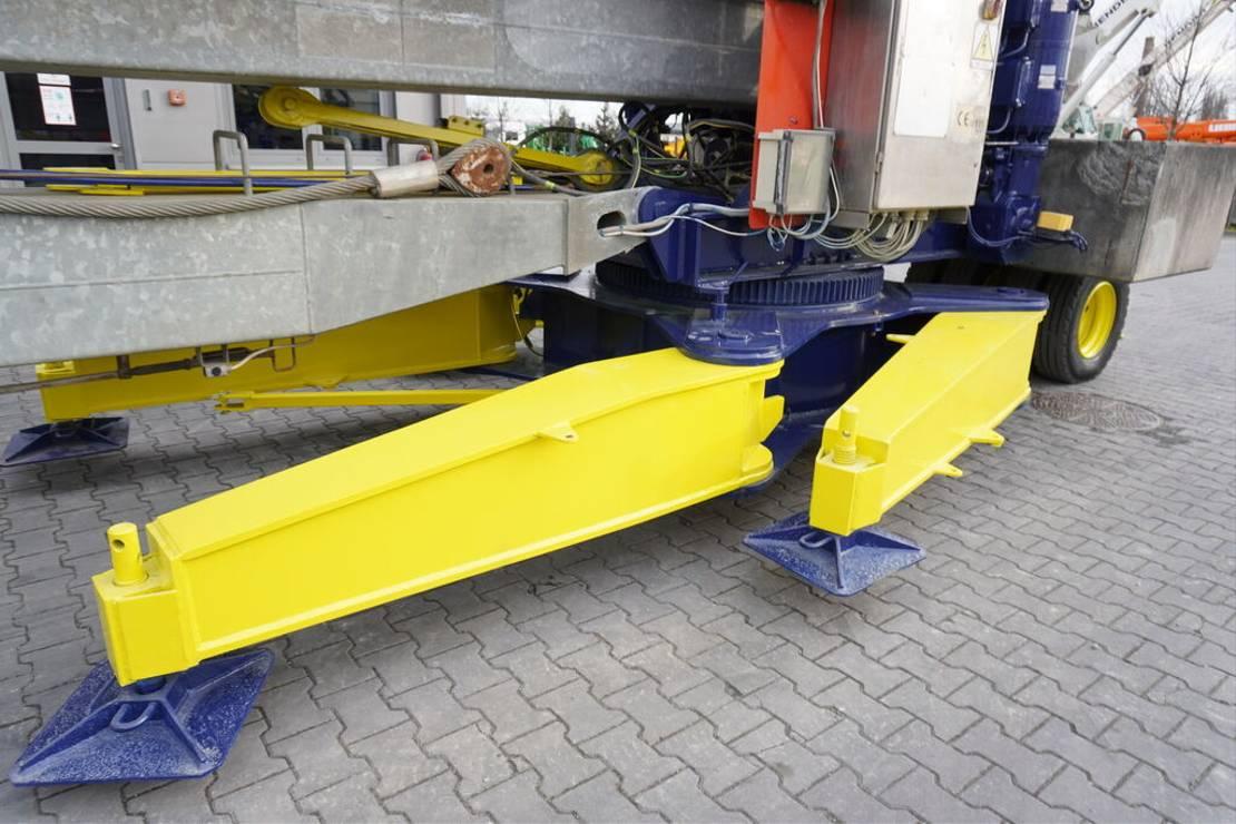 vaste torenkraan Diversen MA SOL HS 35.10 , max 35m - 4,000kg , roto , self-asembled crane 2005
