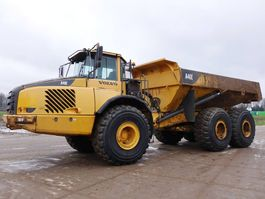 knikdumper Volvo A40E Good working condition 2008