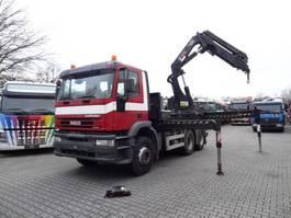 overige vrachtwagens Iveco EuroTrakker 480 6X4 Kran HIAB 42 T/M 2007