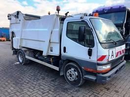 vuilniswagen vrachtwagen Mitsubishi Canter Schörling Micro 8 120/240 2004