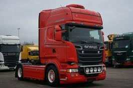 standaard trekker Scania R560 E5 Topline Retarder 2Tanks 1200L Standklima 2013