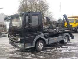 wissellaadbaksysteem vrachtwagen Mercedes-Benz Atego 818 BlueTec5 Absetzkipper 2013