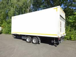 gesloten opbouw aanhanger Möslein TKO 105 Schwebheim  Tandem Koffer mit Ladebordwand und Durchladbar 2016