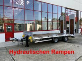 dieplader oplegger Möslein TT21-6,5 hydr  21 t Tandemtieflader, Luftgefedert, NEU 2021