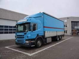 huifzeil vrachtwagen Scania P 450 2015