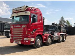 containersysteem vrachtwagen Scania R 560 8X4 2011