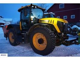 standaard tractor landbouw JCB Fastrac 4220 m / 3 tire set 2017