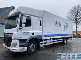 bakwagen vrachtwagen DAF FA CF250 SkyCab, gesloten laadbak met klep 2014