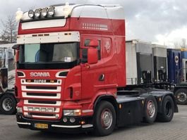 standaard trekker Scania R500 V8 6x2/4 EURO 5 MANUAL RETARDER 2007