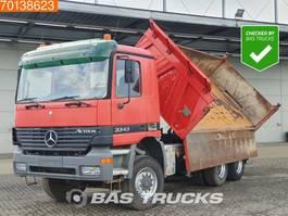 kipper vrachtwagen > 7.5 t Mercedes-Benz Actros 3343 AK 6X6 3-Seiten Steelsuspension 3-Pedals Euro 3 2003