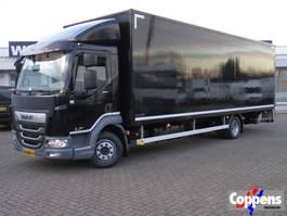 bakwagen vrachtwagen DAF LF 210 FA 4x2 Gesloten bak met klep Euro 6 2018