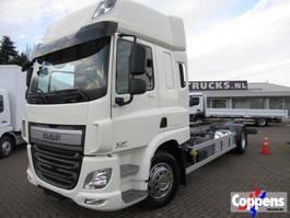 wissellaadbaksysteem vrachtwagen DAF CF 370 4x2 Chassis wisselbare opbouw, BDF, Twistlocks Euro 6 2015