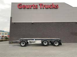 container chassis aanhanger GS Meppel AC-3000 3 ASSIGE CONTAINER AANHANGER 2018