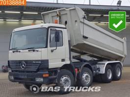 kipper vrachtwagen > 7.5 t Mercedes-Benz Actros 4143 K 8X4 Manual BigAxle Steelsuspension Euro 3 2001