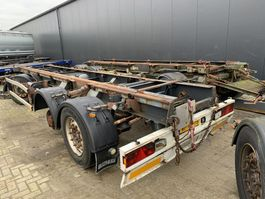 container chassis aanhanger Bulthuis 3x container aanhanger opknappers! 2007