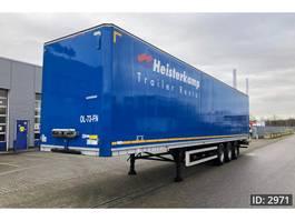 gesloten opbouw oplegger Talson F1227 Garment trailer / MOT 23-07-2021 2010