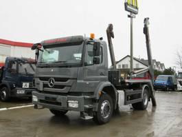 containersysteem vrachtwagen Mercedes-Benz Axor 1833 K Absetzkipper Meiller AK 12 MT 2012