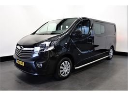 gesloten bestelwagen Opel Vivaro 1.6 CDTI L2H1 Dubbel Cabine - Airco - Cruise - Navi - € 12.500,- Ex. 2017