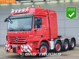 standaard trekker Mercedes-Benz Actros 4160 S 8X4 500T Manual Push+Pull WSK Hydraulic Euro 3 2007