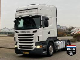 standaard trekker Scania R400 Topline / Auto / ALU WHEELS NL TRUCK 2010