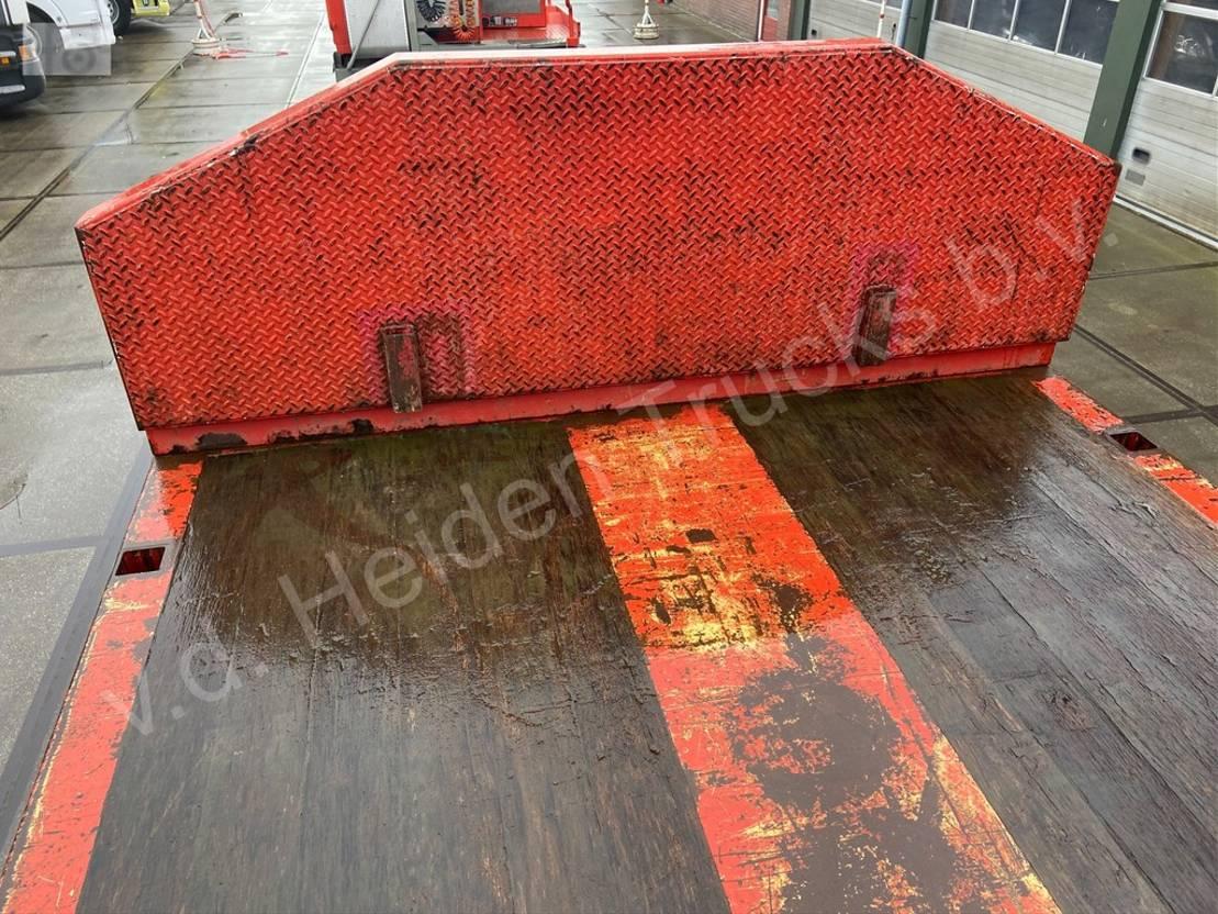 semi dieplader oplegger Van Hool 3H2002 | Semi-dieplader | 6m Uitschuifbaar 2009