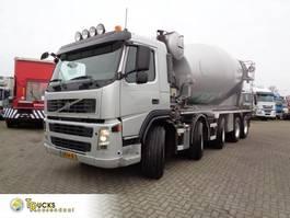 betonmixer vrachtwagen Volvo FM 480 + Euro 5 + Manual + Concrete Mixer 14m3 + 10x4 2010