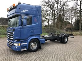chassis cabine vrachtwagen Scania R520 4x2 Full Air King of Road 2015