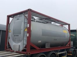 tankcontainer Van Hool 20 FT 21000 liter 1998