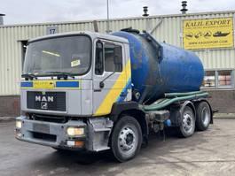 kolkenzuiger vrachtwagen MAN 25.272 Vacuum Toilet Truck 6x2 12.000L Good Condition 1996