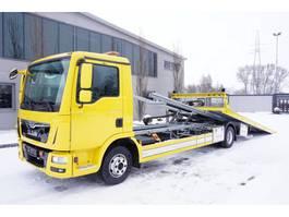 takelwagen-bergingswagen-vrachtwagen MAN TGL 12.220 , E6 , NEW BODY 6,4M , hydraulic ramp , tug , NEW TIR 2016