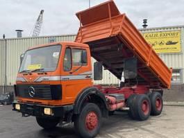 kipper vrachtwagen > 7.5 t Mercedes-Benz 2628 Kipper 6x6 V8 ZF Good Condition 1985