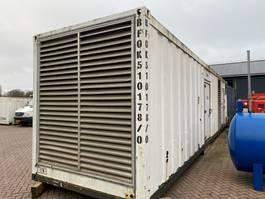 generator Cummins KTTA 38 G 1250 kVA Silent generatorset in 40 ft container