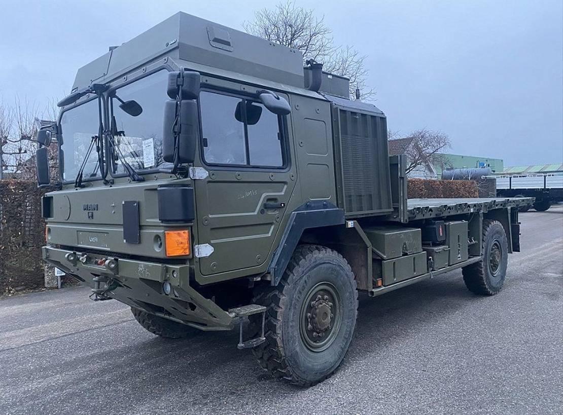 leger vrachtwagen MAN HX 18.330 SV 4x4 2008
