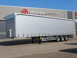 schuifzeil oplegger Hangler 3-axle curtain trailer 42.000kg