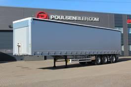 schuifzeil oplegger Hangler 3-axle NORDIC curtain trailer 42.000kg